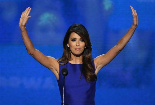 eva longoria DNC speech