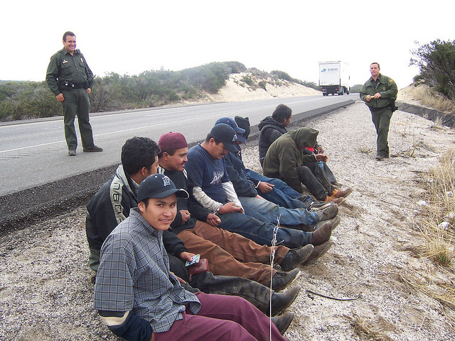border patrol arrest